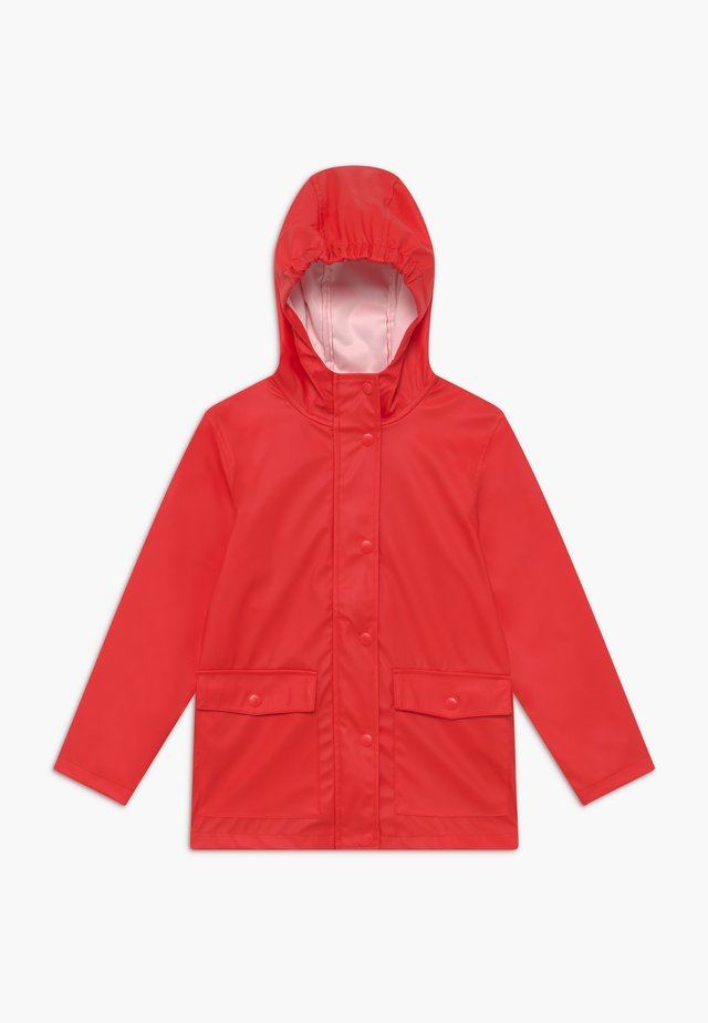 NKNMIL RAIN JACKET - Regenjas - high risk red