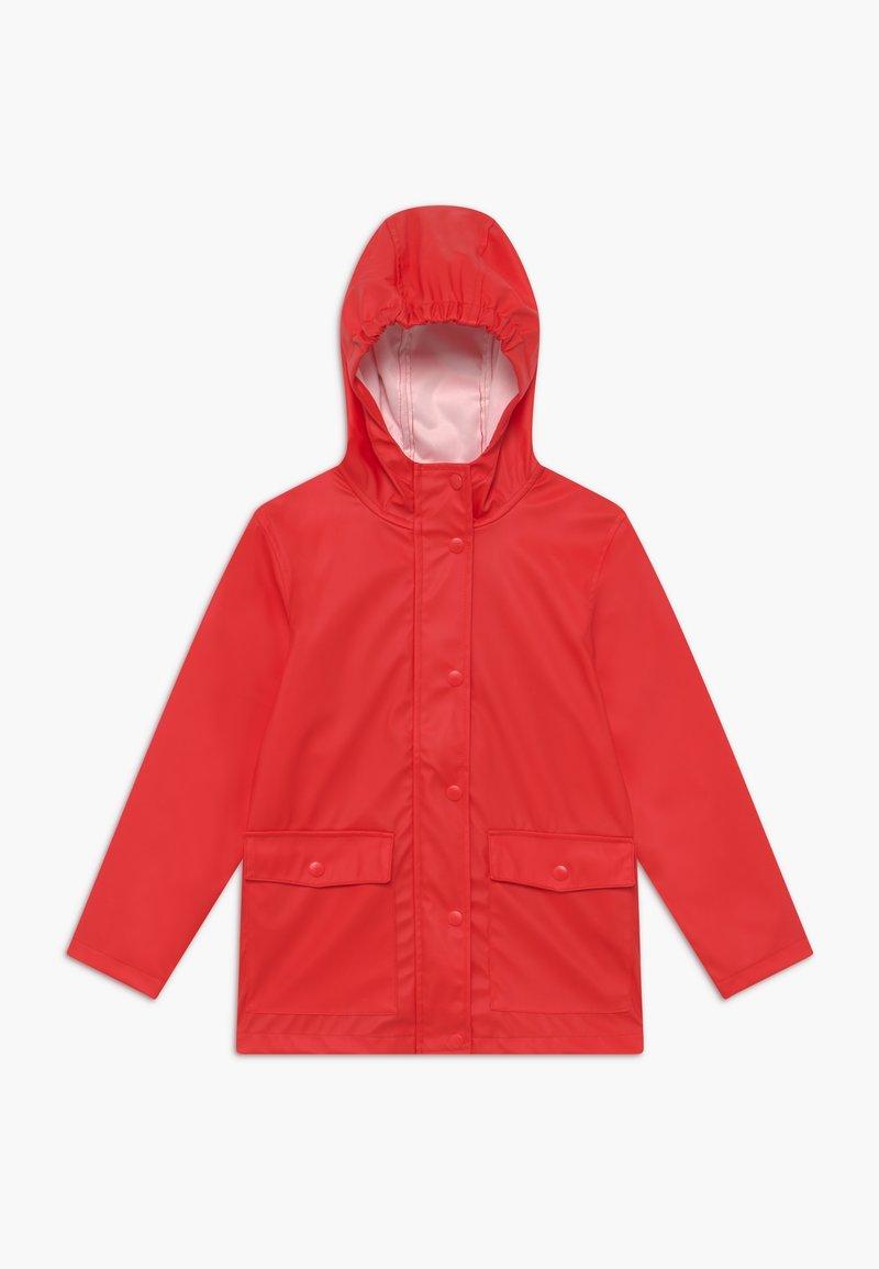 Name it - NKNMIL RAIN JACKET - Vodotěsná bunda - high risk red