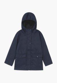 Name it - NKNMIL RAIN JACKET - Waterproof jacket - dress blues - 0