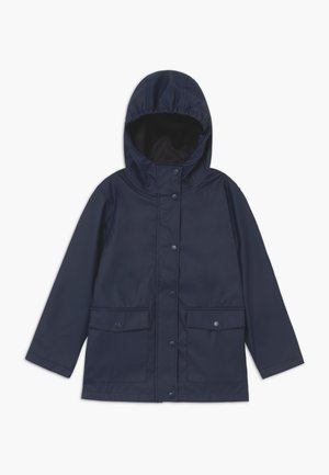 NKNMIL CAMP - Veste imperméable - dress blues