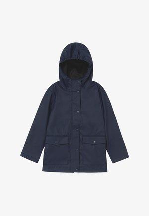 NKNMIL RAIN JACKET - Waterproof jacket - dress blues
