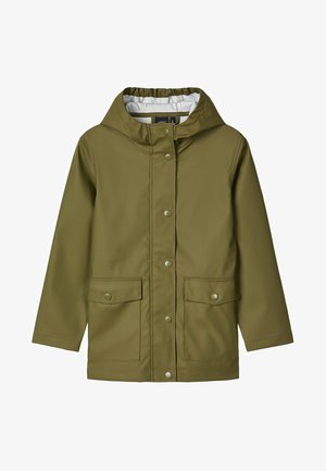 NKNMIL CAMP - Impermeable - dark green