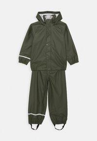 Name it - NKNDRY RAIN SET - Kalhoty do deště - thyme - 0