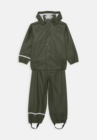 Name it - NKNDRY RAIN SET - Pantalon de pluie - thyme - 0