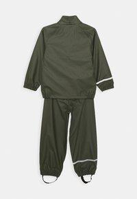 Name it - NKNDRY RAIN SET - Kalhoty do deště - thyme - 2