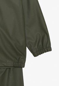 Name it - NKNDRY RAIN SET - Kalhoty do deště - thyme - 4