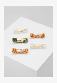 Name it - NKFACC HEARLICOL HAIRCLIPS 5 PACK - Haar-Styling-Accessoires - green gables/gold - 1