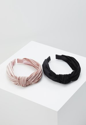 HAIRBRACE 2 PACK - Hårstyling-accessories - dusty rose