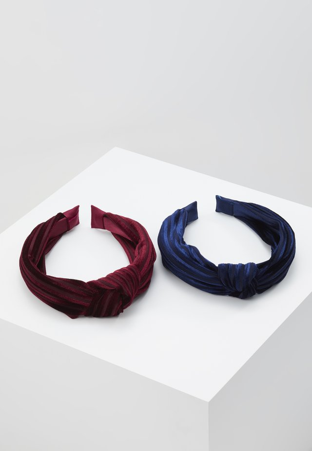 HAIRBRACE 2 PACK - Hair Styling Accessory - dark sapphire