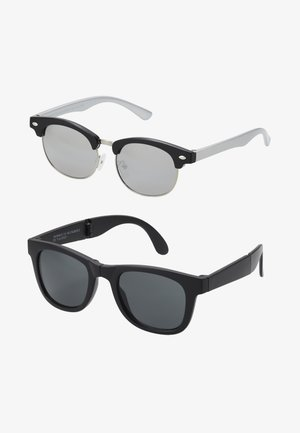 2 PACK - Sunglasses - black