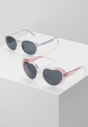 NMFDINSUNGLASSES 2 PACK - Solglasögon - bright white