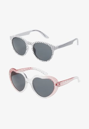 NMFDINSUNGLASSES 2 PACK - Solglasögon - bright white