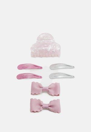 NKFACC DREA HAIR CLIPS 4 PACK - Příslušenství kvlasovému stylingu - pink nectar