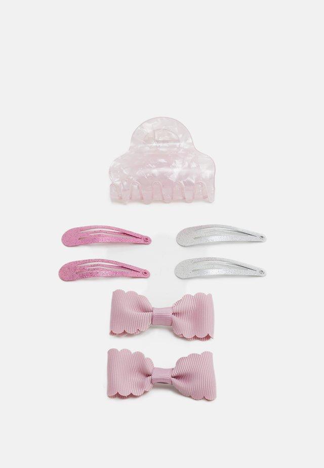 NKFACC DREA HAIR CLIPS 4 PACK - Hair styling accessory - pink nectar