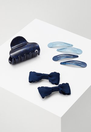 NKFACC DREA HAIR CLIPS 4 PACK - Hair Styling Accessory - dark sapphire