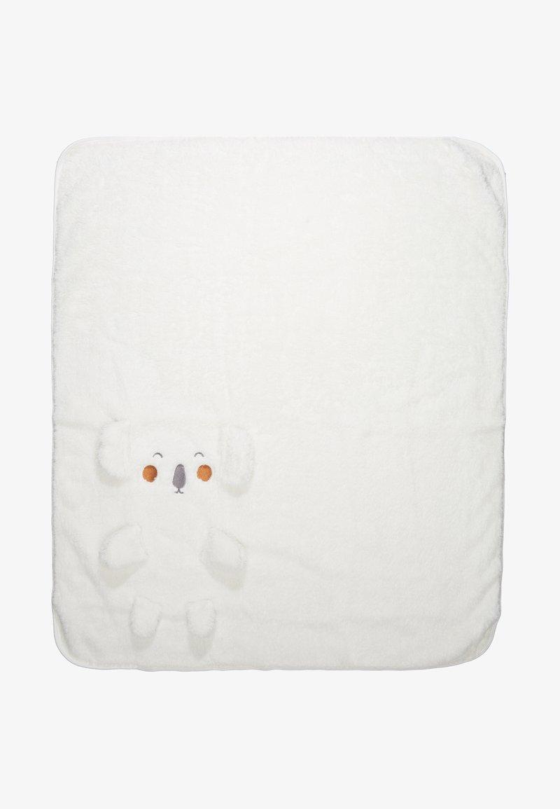 Name it - NBNULVRI BLANKET - Baby blanket - snow white