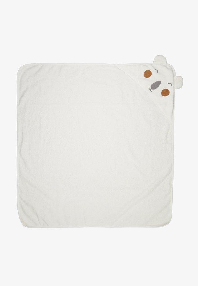 NBNUMERRI TOWEL - Fødselsgave /Dåbsgaver - snow white