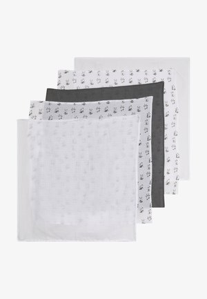 NBNNAPSIBO NAPPIES 5 PACK - Foulard - steel gray