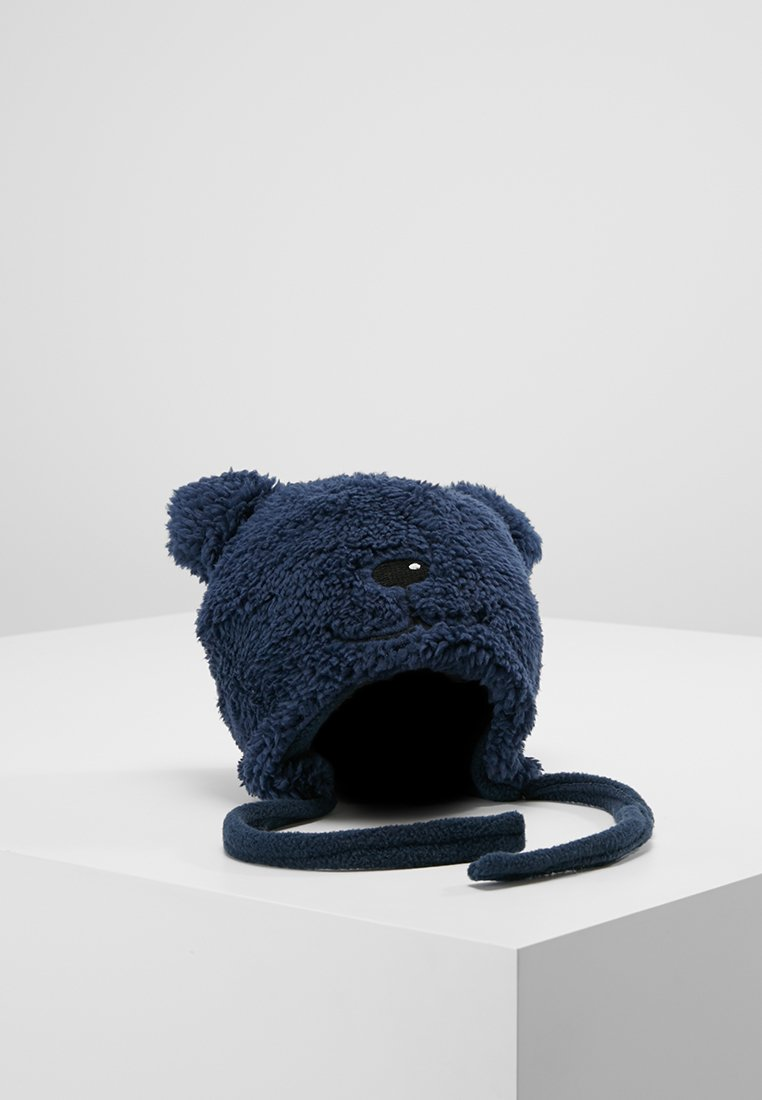 Name it - NBMMALIS TEDDY HAT BABY - Huer - dress blues