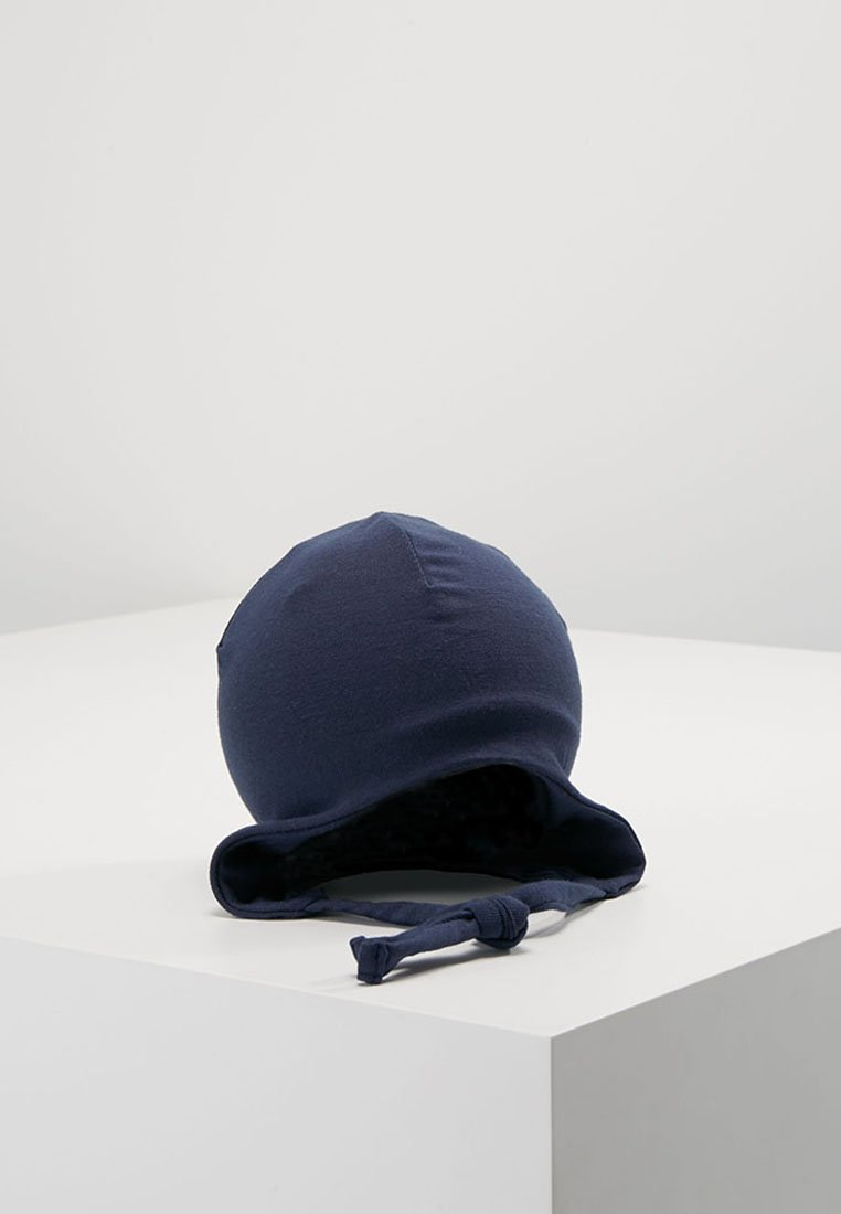 Name it - NBMMADYS SOLID HAT BABY - Bonnet - dark blue