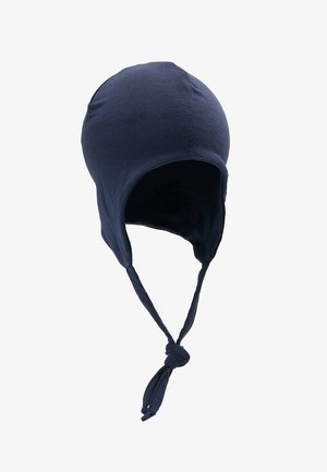 NBMMADYS SOLID HAT BABY - Beanie - dark blue