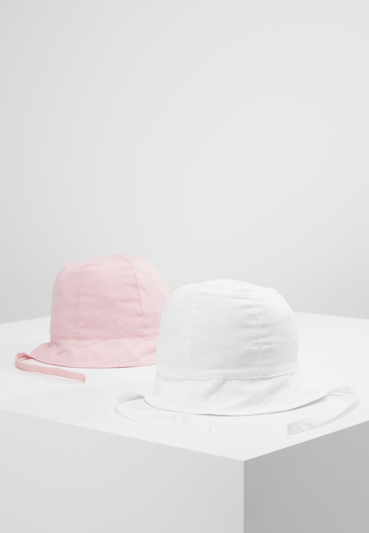 Name it - NBFDAFYPSI HAT 2 PACK - Hut - bright white/rose shadow
