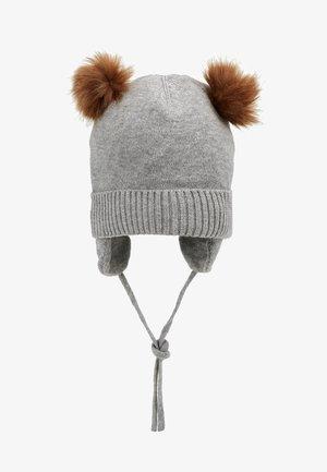 NBMMOE HAT - Čepice - grey melange
