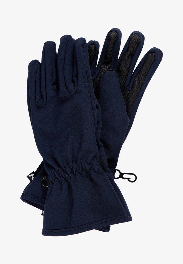 Gloves - dark sapphire