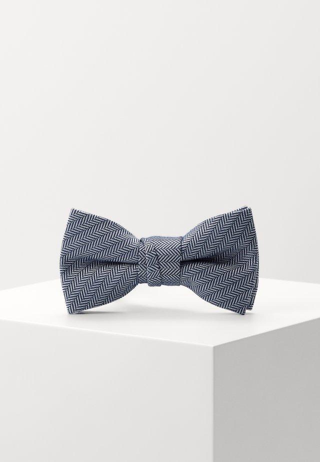 NMMGRAY BOWTIE - Bow tie - dark sapphire