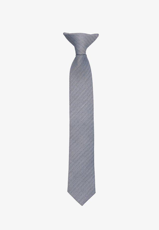 NKMGRAY TIE - Tie - dark sapphire