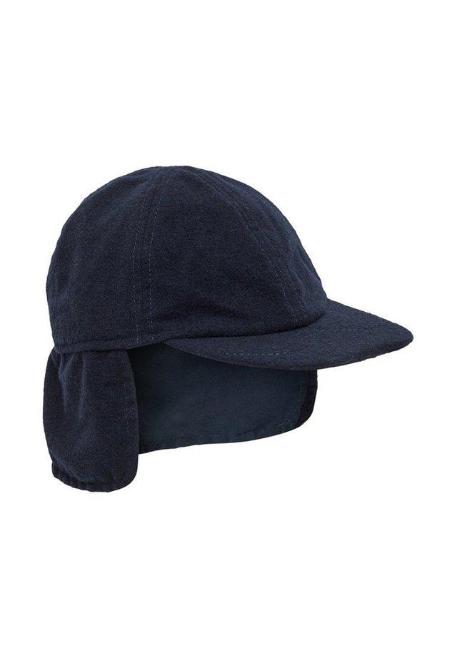 CAP WOLLMISCHFASER - Kapelusz - dark sapphire