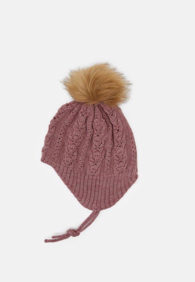 NMFWRILLA HAT  - Bonnet - nostalgia rose