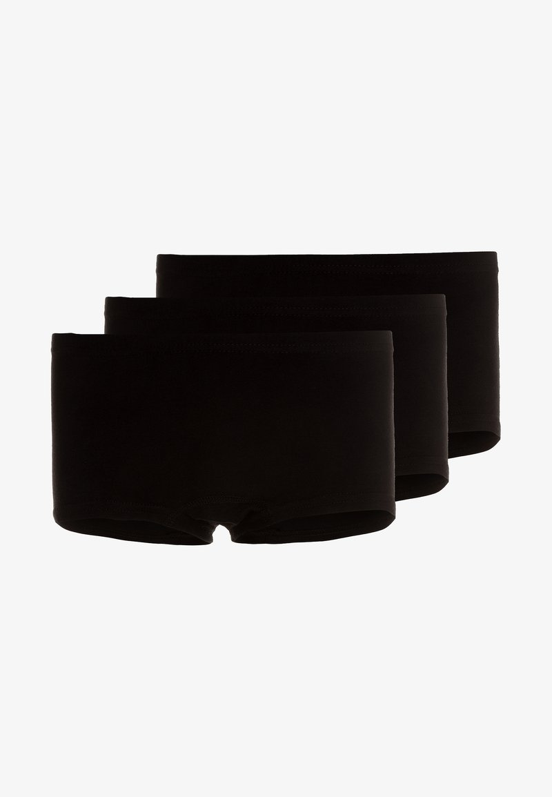 Name it - NKFTIGHTS SOLID 3 PACK - Boxerky - black