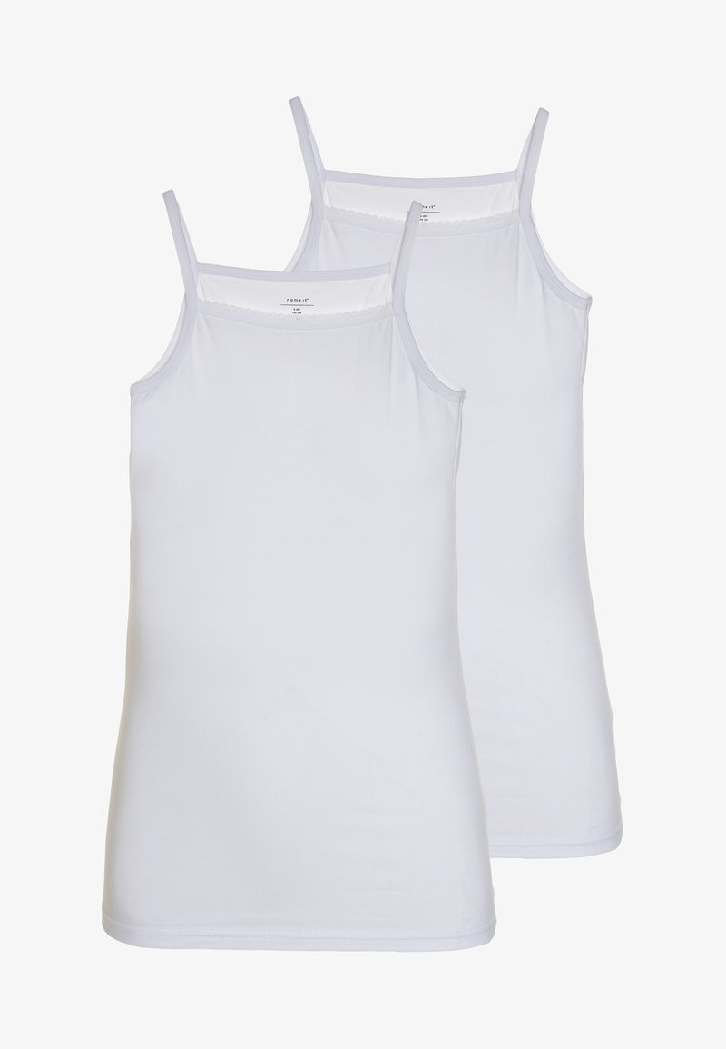 Name it - NKFSTRAP TOP 2 PACK  - Undershirt - bright white