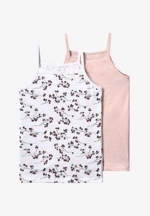 NKFSTRAP TOP 2 PACK - Undershirt - strawberry cream