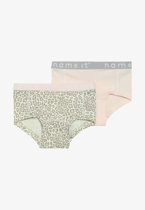 NMFHIPSTER 2 PACK - Pants - barely pink
