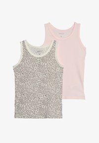 Name it - NMFTANK BARELY ANI 2 PACK - Undershirt - pink - 3