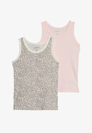 NMFTANK BARELY ANI 2 PACK - Undershirt - pink