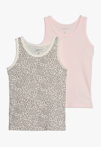 Name it - NMFTANK BARELY ANI 2 PACK - Undershirt - pink - 0