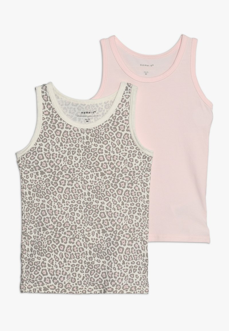 Name it - NMFTANK BARELY ANI 2 PACK - Undershirt - pink