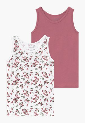NMFTANK 2 PACK - Undertrøjer - heather rose