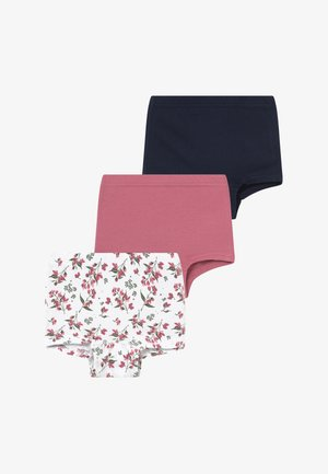 NMFTIGHTS 3 PACK  - Kalhotky/slipy - heather rose