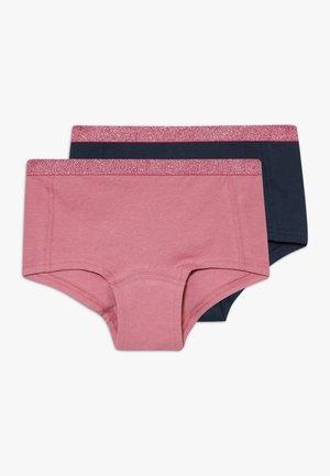 NKFHIPSTER 2 PACK - Kalhotky/slipy - heather rose