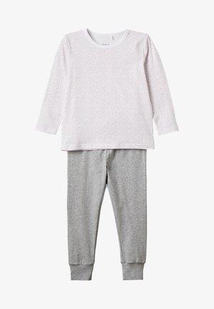 NMFNIGHTSET - Pyžamová sada - bright white