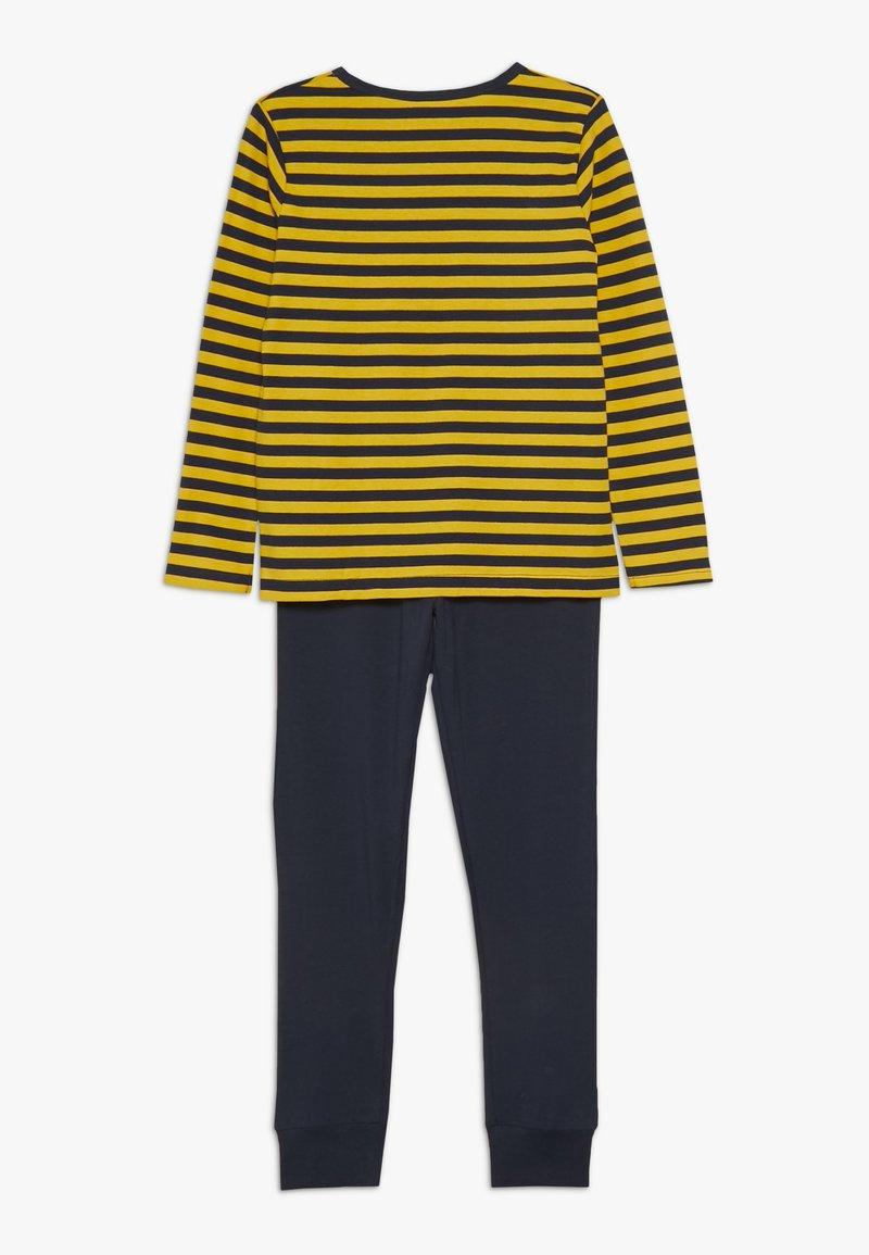 Name it - NKMLIRAN 2 PACK  - Pyjama set - old gold/grey