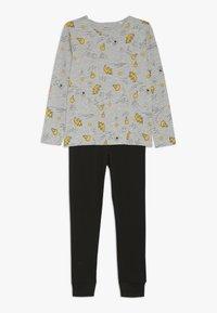 Name it - NKMLIRAN 2 PACK  - Pyjama set - old gold/grey - 1
