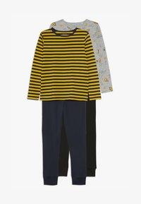 Name it - NKMLIRAN 2 PACK  - Pyjama set - old gold/grey - 4