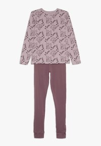 Name it - NKFLUCANA NIGHT 2 PACK - Pyjama set - silver pink - 2