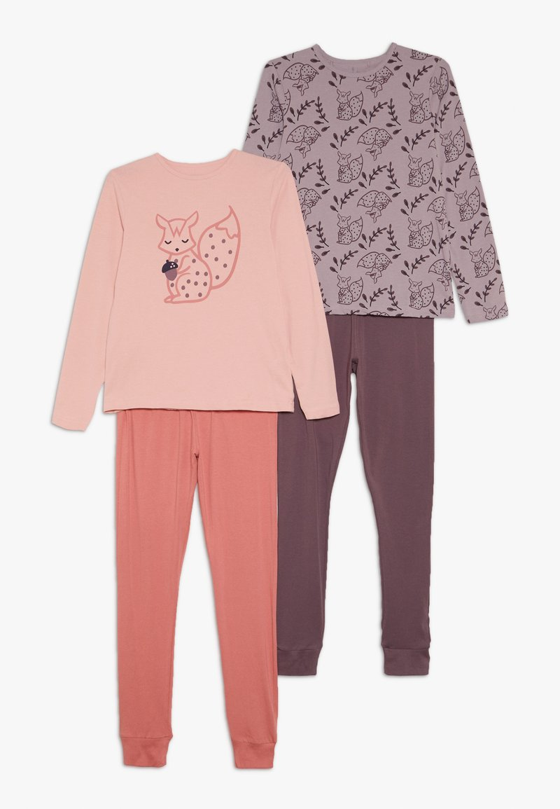 Name it - NKFLUCANA NIGHT 2 PACK - Pyjama set - silver pink