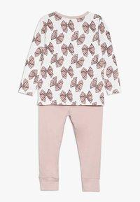 Name it - NMFLUFIE NIGHT 2 PACK - Pyjama set - sea fog/silver pink - 1